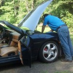 Cleaning and Deodorizing a Porsche Boxter in Guilford CT