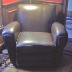Leather Chair Cleaned in Clinton CT