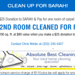 Absolute Best Cleaning Cleans Up For The Sarah Family of Agencies