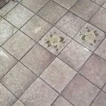 Using Wax on Residential Tile floors causes ugly buildup and needs costly stripping