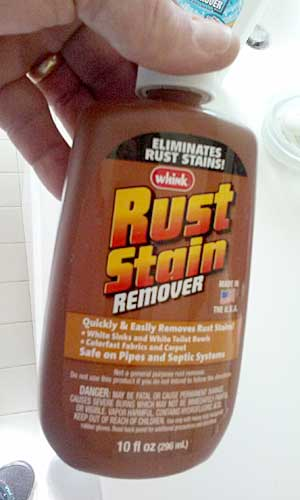 Rust Stain Removal Tip from Chris at Absolute Best Cleaner