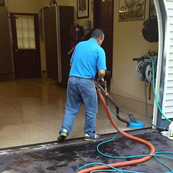 Cleaning epoxy garage floors in madison ct absolute best for Best garage floor cleaner