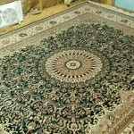 Gorgeous Silk Rug in Essex CT Cleaned By Absolute Best Cleaners