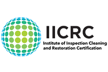 When you see a IICRC logo, you can be confident that an IICRC-certified experienced, qualified professional is caring for your valuable property.