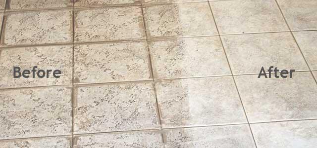 Best way to grout tile floor