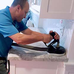 how to clean marble top